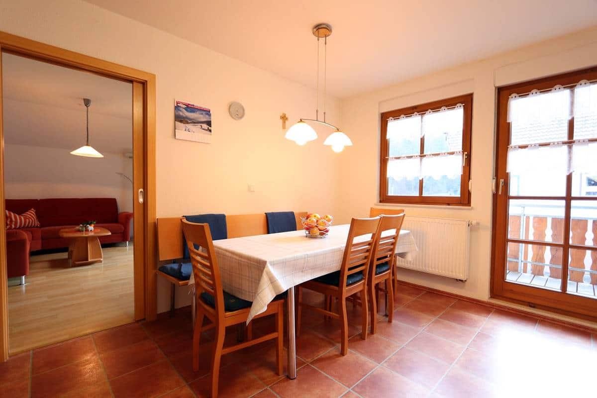 Küche Ferienwohnung Hlaterhof