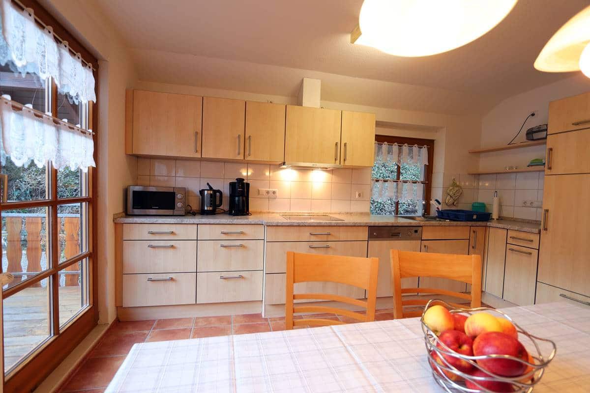 Küche Ferienwohnung Halterhof