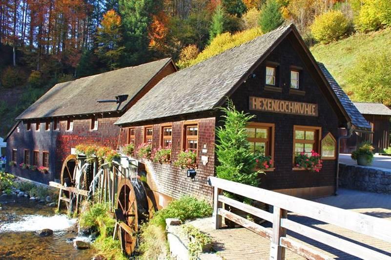 Hexenlochmühle im Hochschwarzwald